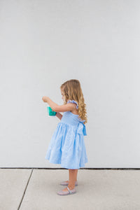 kids seersucker summer dress