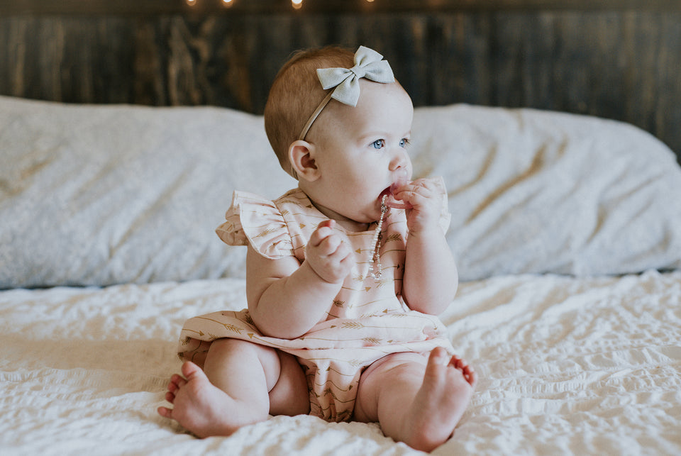 pink and gold first birthday outift