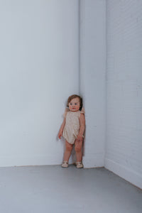 first birthday ivory romper