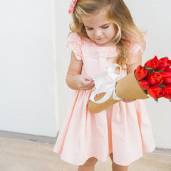 pink lace dress toddler