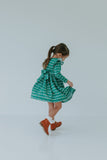 little girls Christmas dress