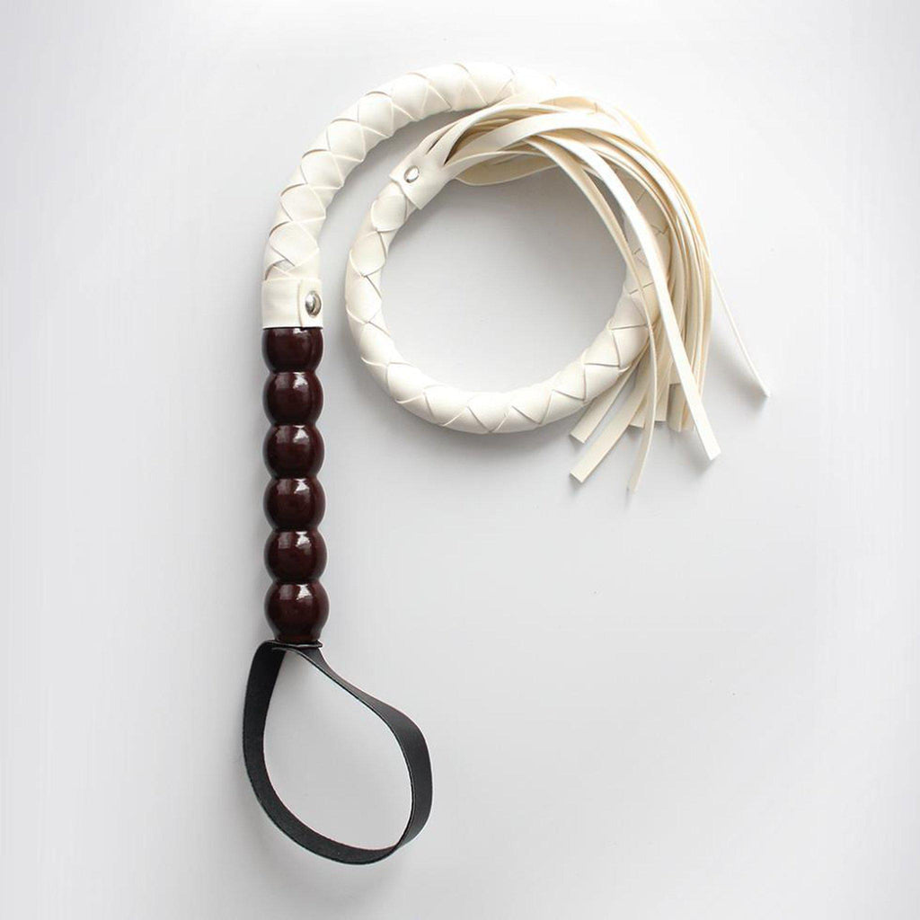 Creamy Bullwhip-Good Girl xox-buy-bdsm-bondage-gear-tools-toys-online-good-girl-xox