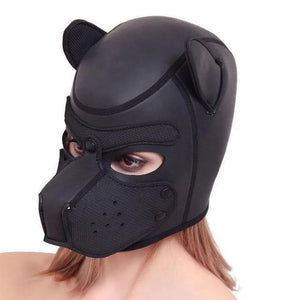 Dog Mask-Good Girl xox-black-buy-bdsm-bondage-gear-tools-toys-online-good-girl-xox