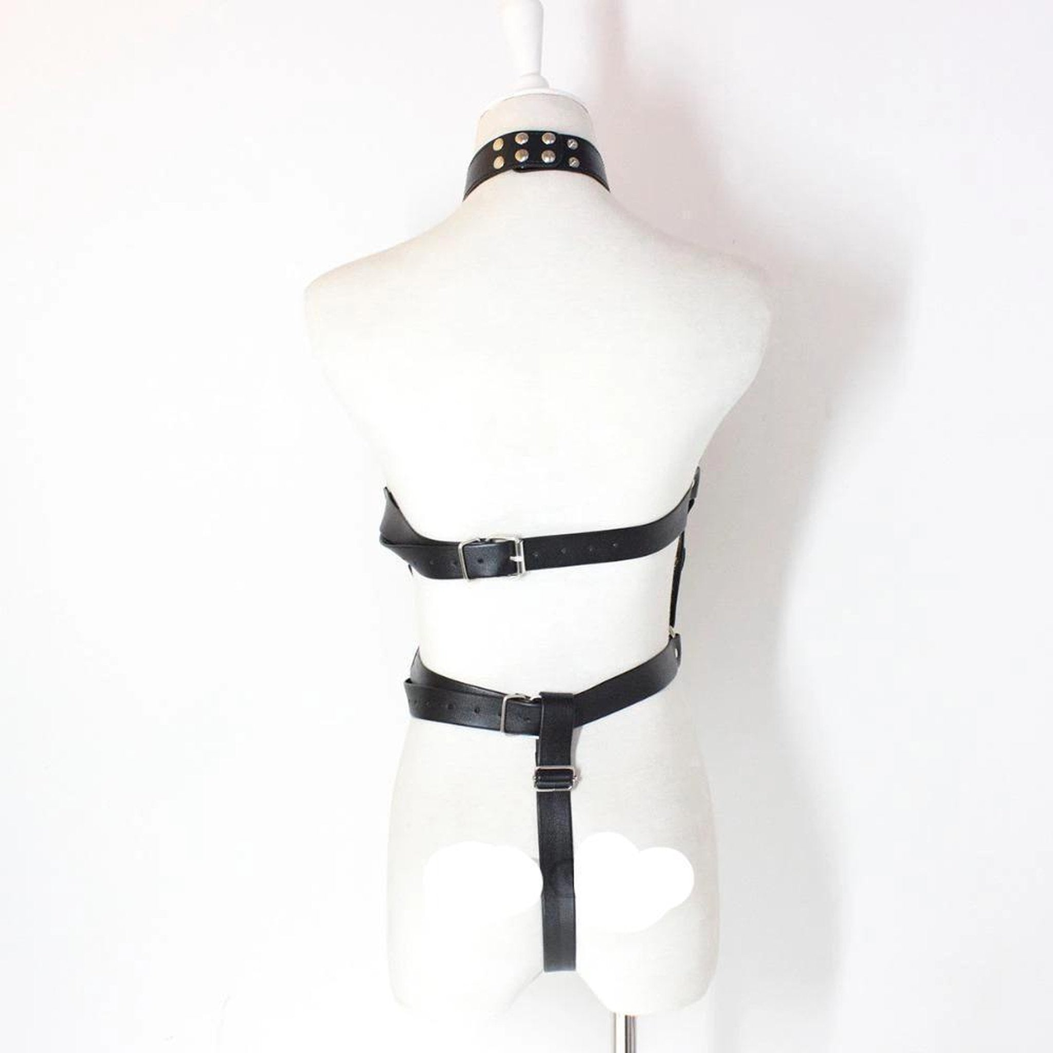 Fetish PU Leather Body Cage-Good Girl xox-B-buy-bdsm-bondage-gear-tools-toys-online-good-girl-xox
