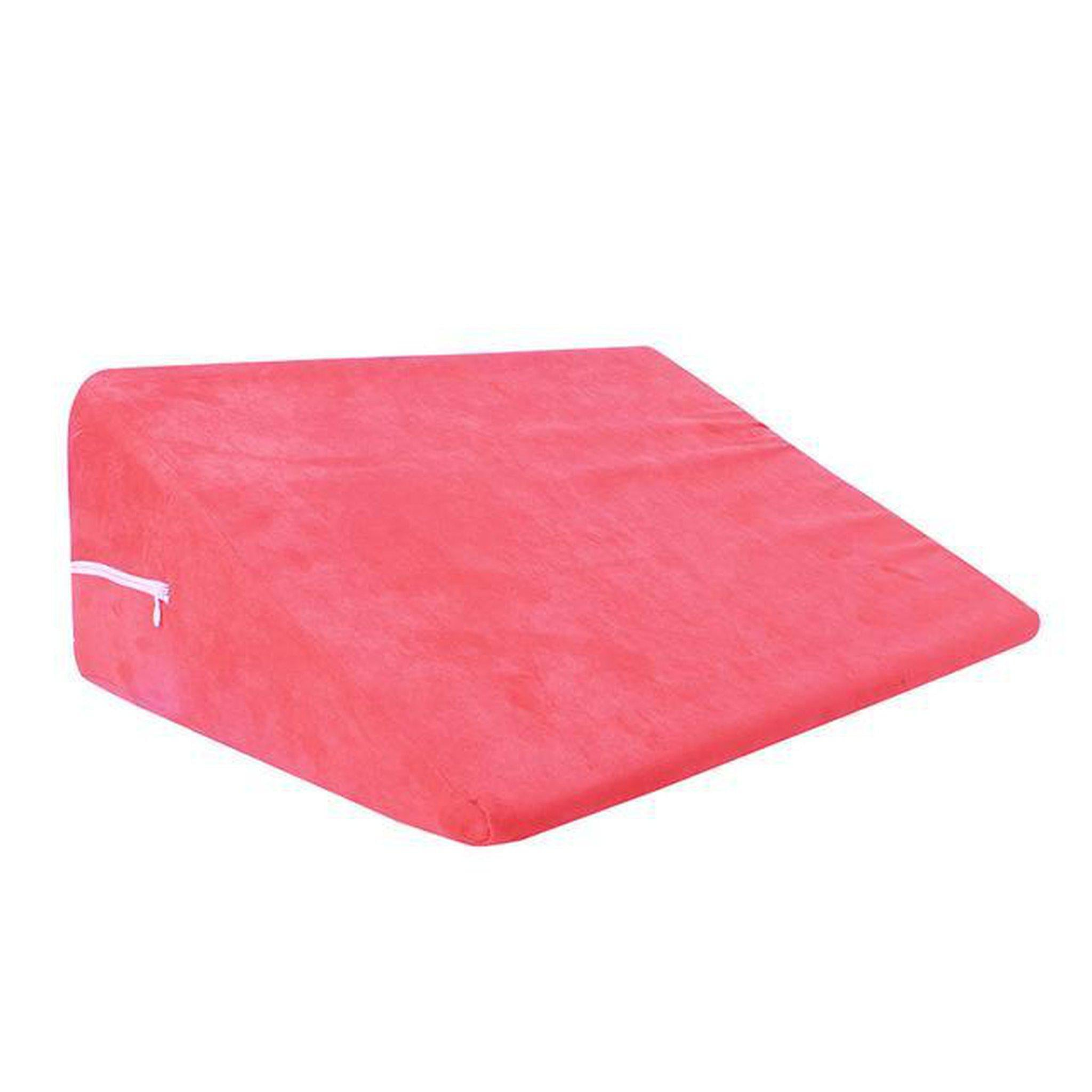 Foam Wedge Pillow-Good Girl xox-Pink-buy-bdsm-bondage-gear-tools-toys-online-good-girl-xox