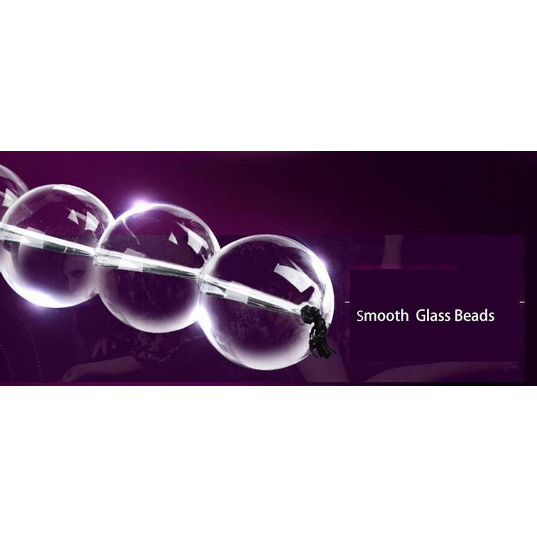 Glass Anal/Vaginal Beads - 4 sizes-Good Girl xox-S Size-buy-bdsm-bondage-gear-tools-toys-online-good-girl-xox
