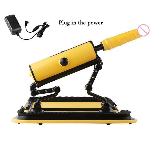 Handbag Sex Machine with Remote Control-Good Girl xox-Plug-in power Yellow-buy-bdsm-bondage-gear-tools-toys-online-good-girl-xox