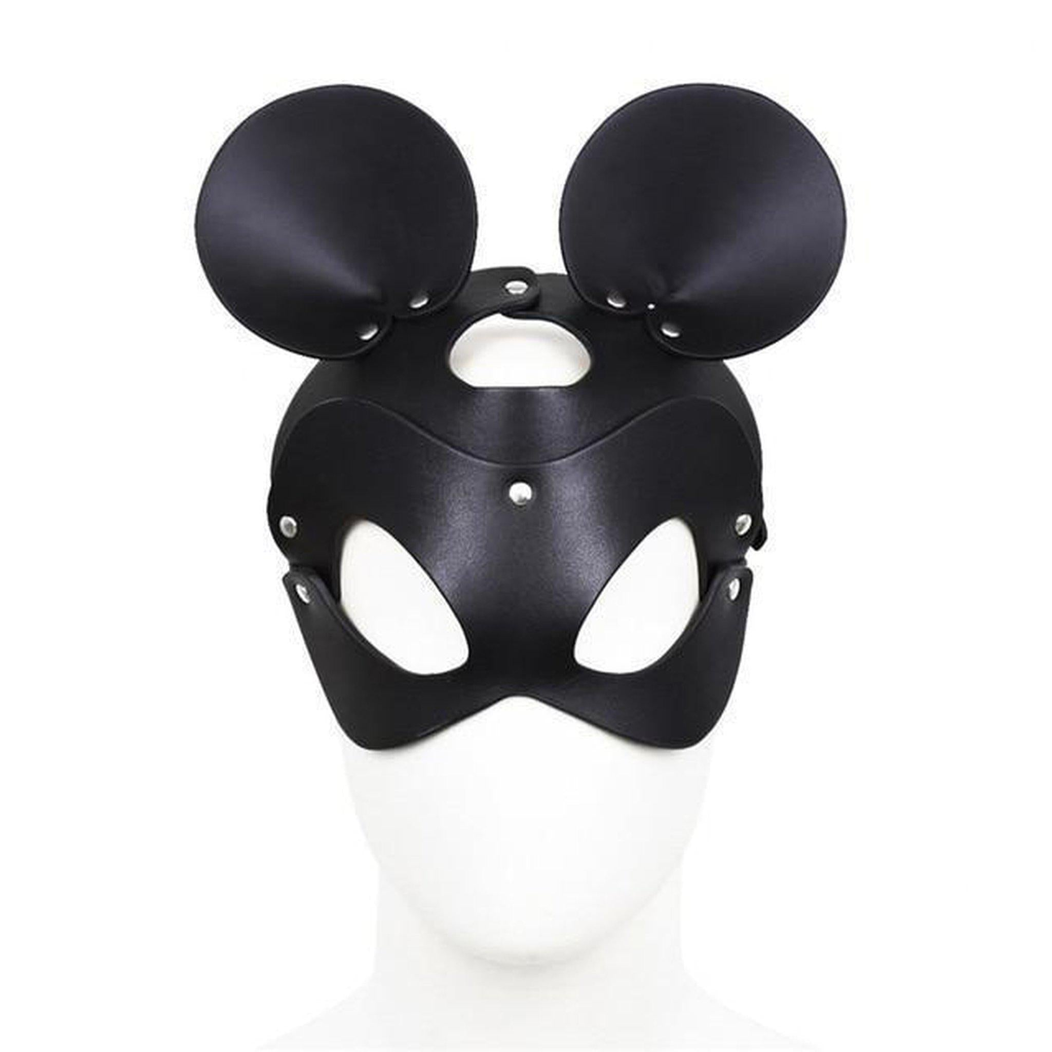 Naughty Kitty Leather Mask-Good Girl xox-Mouse-buy-bdsm-bondage-gear-tools-toys-online-good-girl-xox