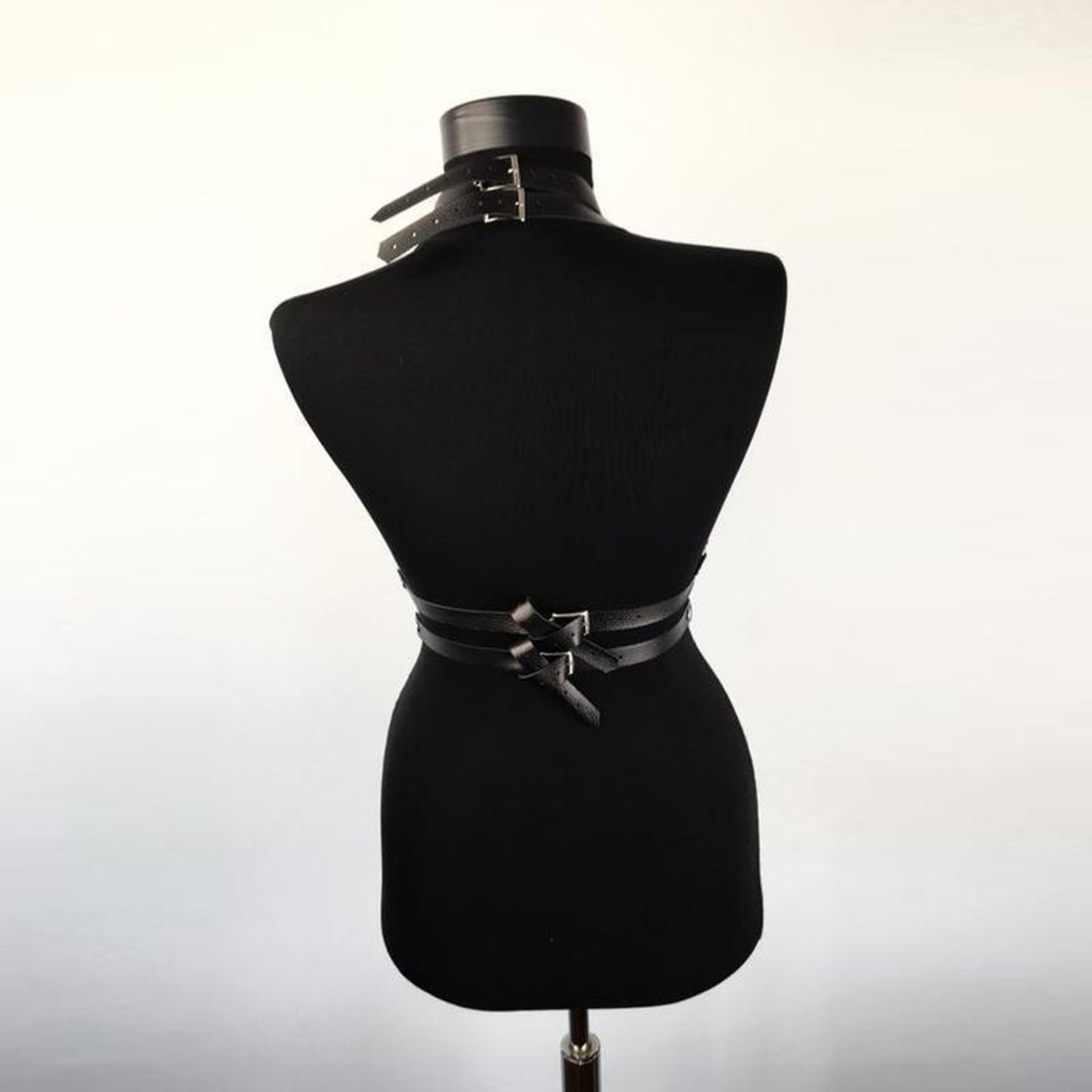 Punk Leather Harness-Good Girl xox-One Size-buy-bdsm-bondage-gear-tools-toys-online-good-girl-xox