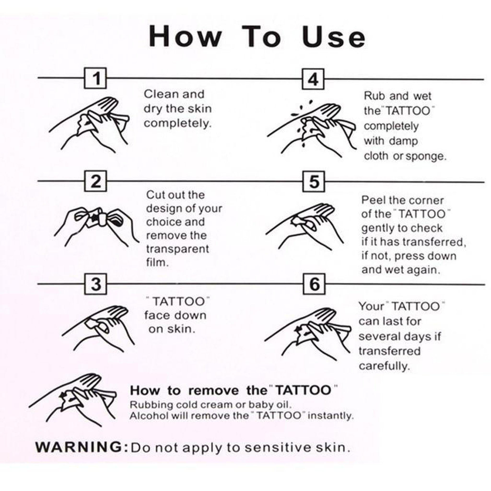 Queens of Spades Waterproof Temporary Tattoos-Good Girl xox-buy-bdsm-bondage-gear-tools-toys-online-good-girl-xox