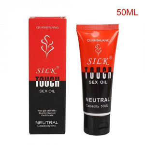 """Silk Touch"" Anal Sex Lubricant 30/50/100ml - Oil based, water soluble-Good Girl xox-50ml-buy-bdsm-bondage-gear-tools-toys-online-good-girl-xox"