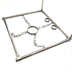Stainless Steel K9 Discipline Stocks-Good Girl xox-male-buy-bdsm-bondage-gear-tools-toys-online-good-girl-xox