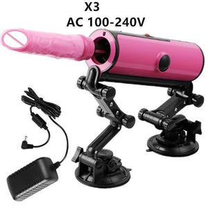 Suction Base Fuck Machine with Remote Control and Accessories-Good Girl xox-X3-buy-bdsm-bondage-gear-tools-toys-online-good-girl-xox