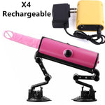 Suction Base Fuck Machine with Remote Control and Accessories-Good Girl xox-X4-buy-bdsm-bondage-gear-tools-toys-online-good-girl-xox