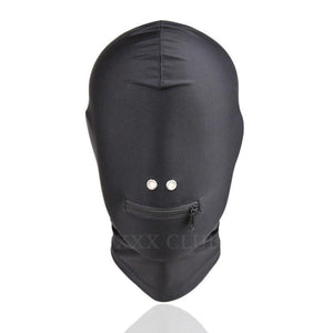 Zippered Stretchable Eyeless Hood-BDSM-Good Girl xox-buy-bdsm-bondage-gear-tools-toys-online-good-girl-xox
