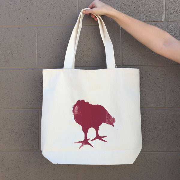 Chicken Red Tote