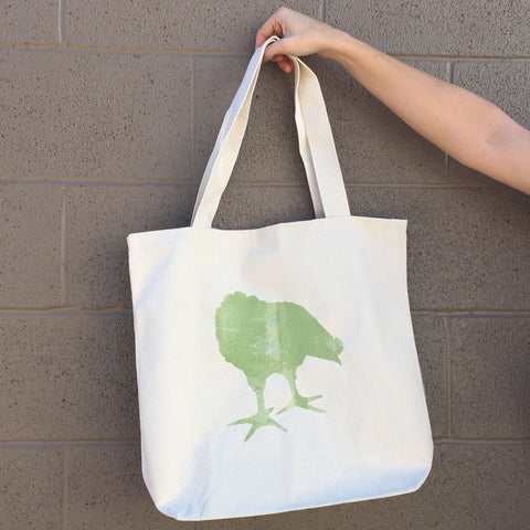 Chicken Green Tote