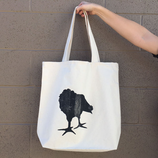 Chicken Black Tote