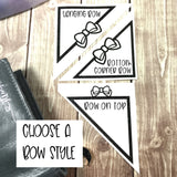 Bow Corner Vinyl Decal