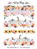 Fall Headers Planner Stickers