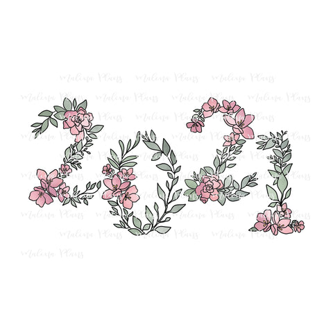 Floral 2021 Digital Download- Color Offset