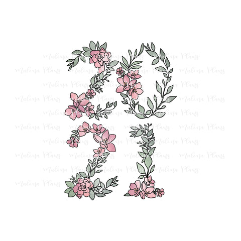 Floral 2021 Digital Download- Color Stacked