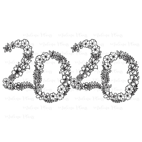 Floral 2020 Digital Download- Offset