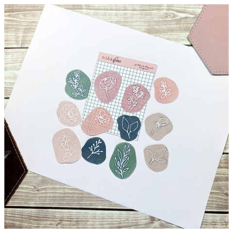 Painted Rocks Sticker Pack