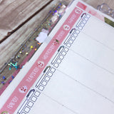 Mildliner Checklists Sticker Sheet- Spring