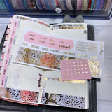 Hearts & Roses FOILED Hobonichi Weeks Kit