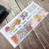 Pastel Floral Foiled Hobonichi Weeks Kit