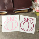 Pumpkin Vinyl Decal