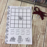 Goal Getter Bingo Sticker Sheet