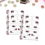 Micro HP Sticker Sheet- Autumn Evening Boxes