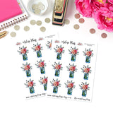 Blossom Bouquet Sticker Sheet