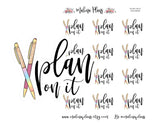 Plan on It Planner Stickers