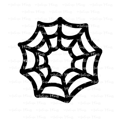 Spider Web Vinyl Decal- Simple