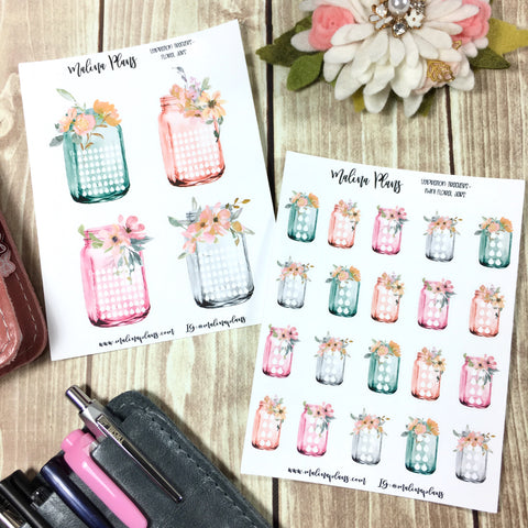 Hydration Jars Sticker Sheet