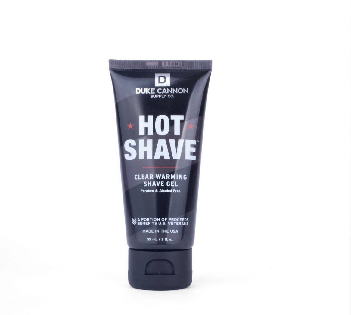 Travel Size Duke Cannon Hot Shave Warming Shave Gel