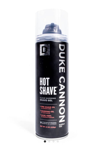 Duke Cannon Hot Shave Warming Shave Gel