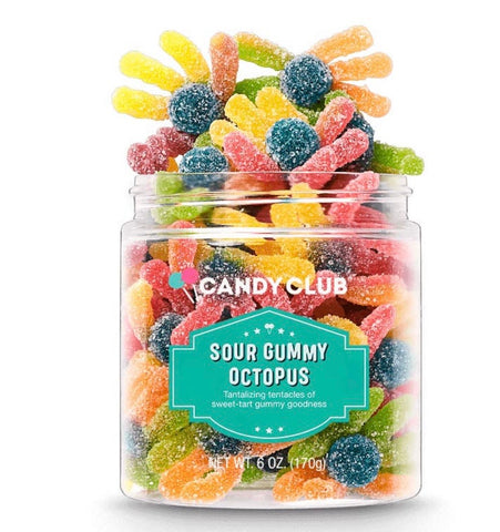 Sour Gummy Octopus- Candy Club