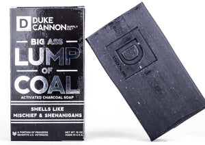 Duke Cannon Big Ass Lump of Coal Soap