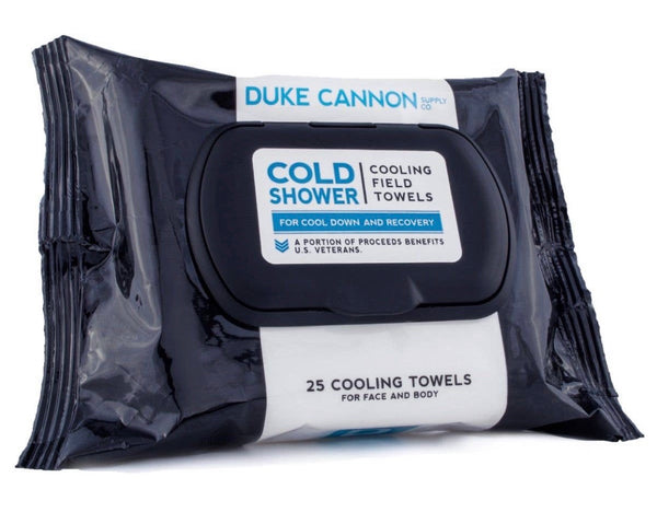 Duke Cannon Cooling Shower Wipes