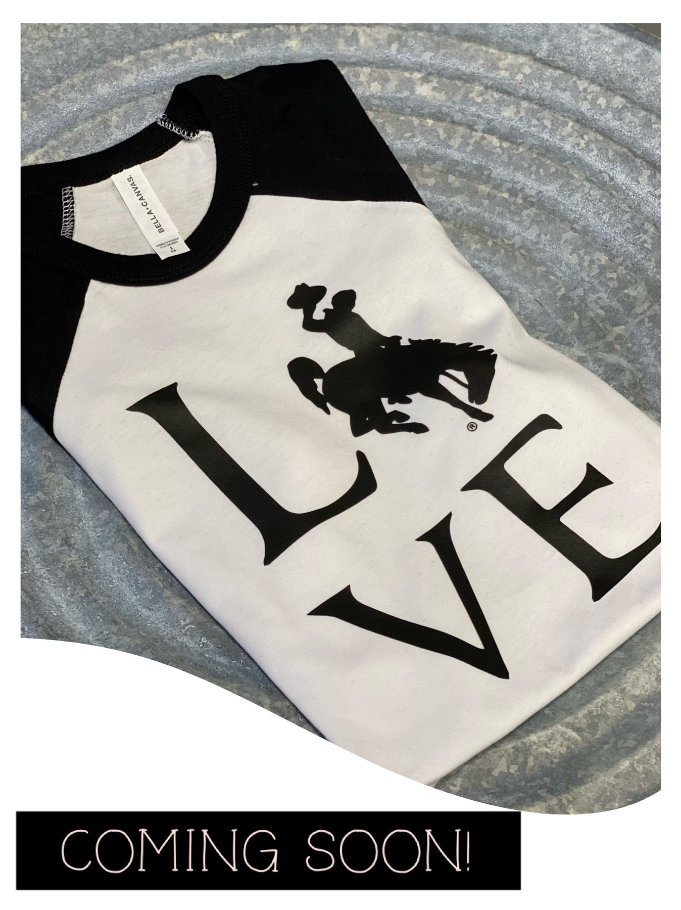 YOUTH Raglan/LOVE
