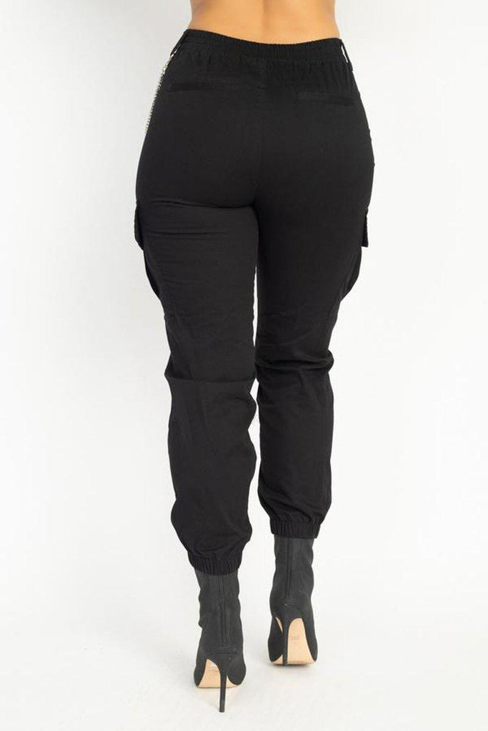 Twill Jogger Pants in colors