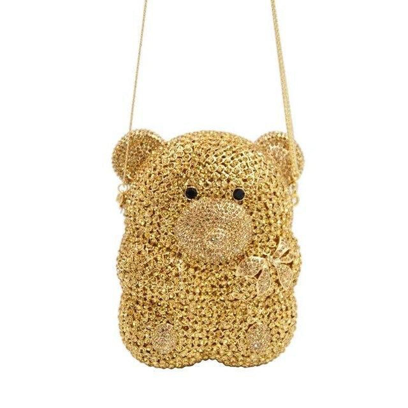 BEAR CUB embellished purse