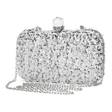 ELSA sequinned clutch