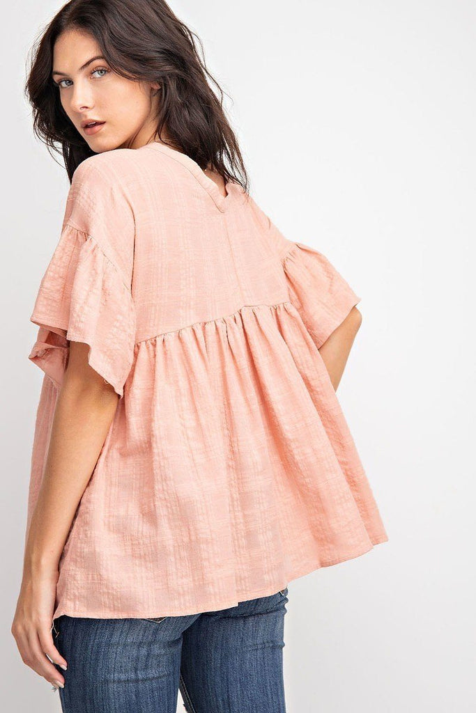 Baby Doll Swing Tunic Top
