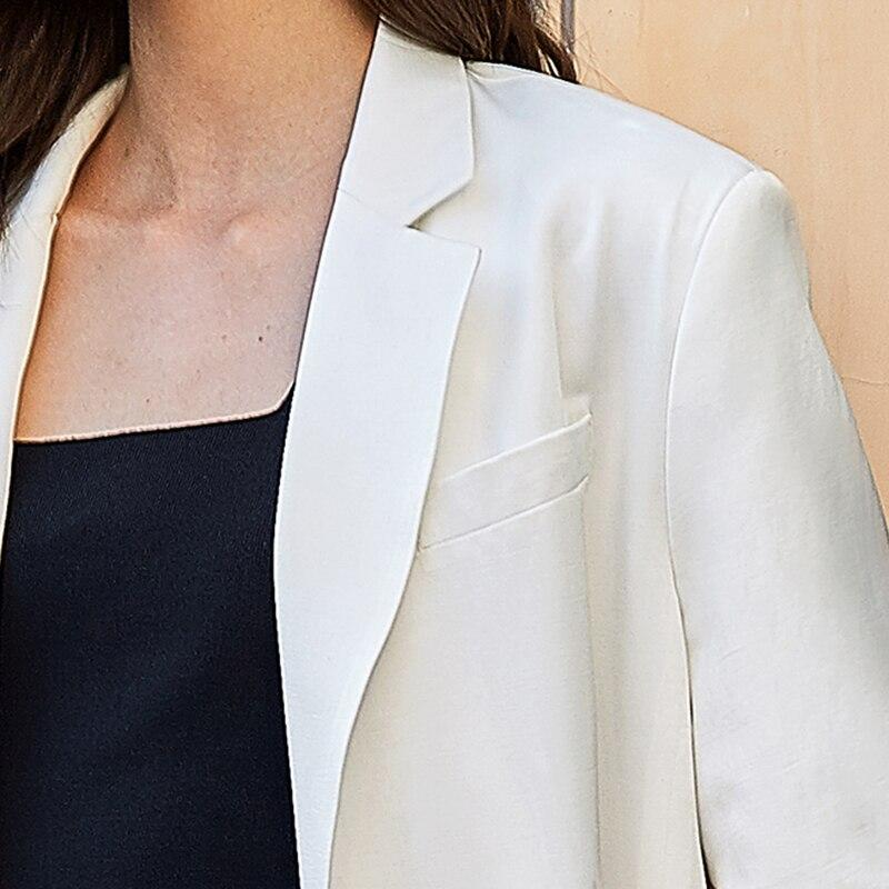 Primetime Looks-Blazer and shorts holiday set in white