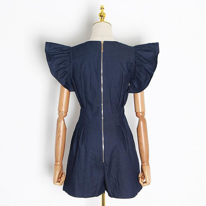 Primetime Looks-Butterfly V-Neck summer playsuit
